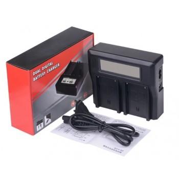 Gokyo двойное зарядное у-во с инфо индикатором для Sony FW50 + usb