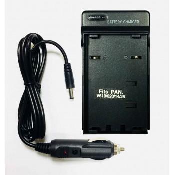 Зарядное устройство Gokyo для PANASONIC V610 / V14 + Автомобильный адаптер